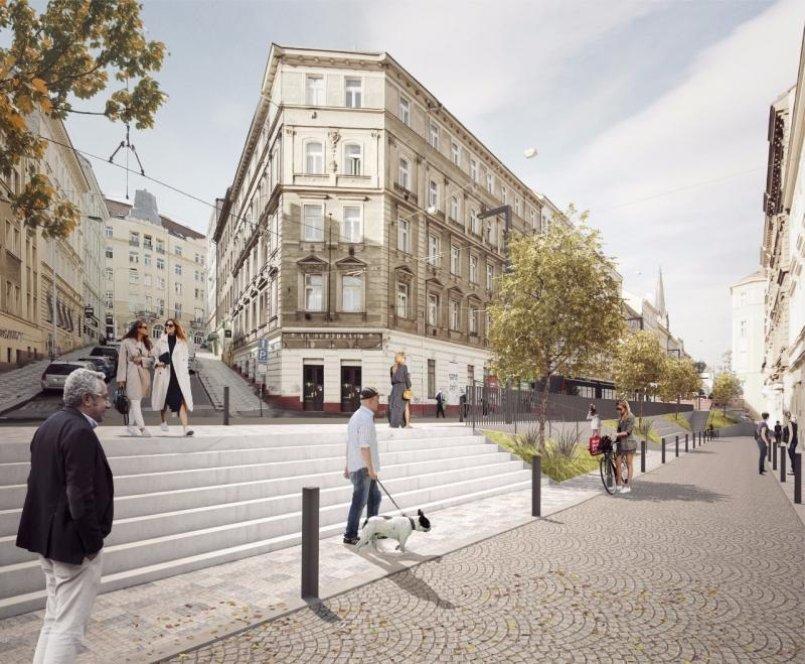 Budoucí podobu ulice určí studie, která vzniká ve spolupráci Institutu plánování a rozvoje Prahy (IPR Praha) s architektonickou kanceláří edit!