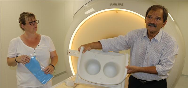 Nemocnice Chomutov, magnetická rezonance,
