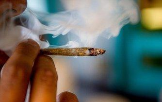 Joint marihuany - ilustrační foto