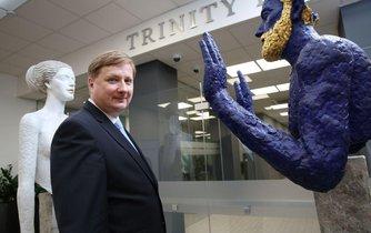 Spolumajitel Trinity Bank Radomír Lapčík