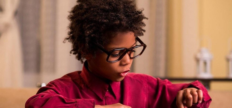 Afroamerický chlapec, ilustrační foto