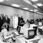 Byla to na začátku roku 1980 velká sláva, když tehdejší premiér Lubomír Štrougal  otevřel Ústřední telekomunikační budovu