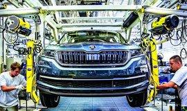 Výroba aut ve Škoda Auto, ilustrační foto