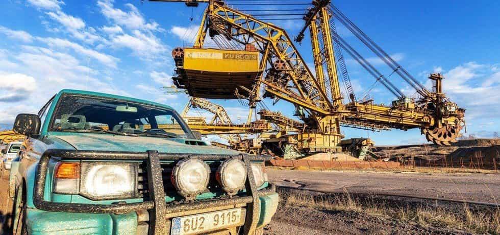 Těžba uhlí, ilustrační foto