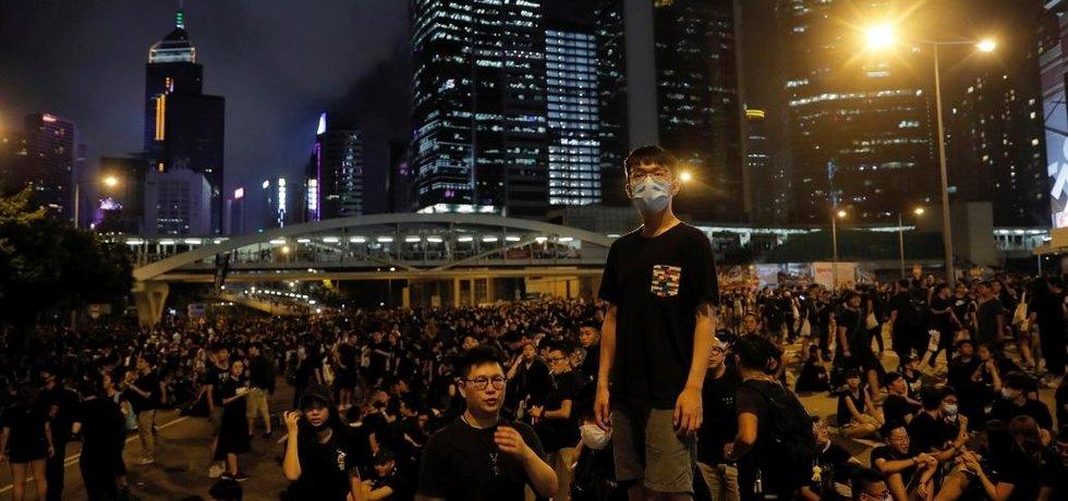 Protesty v Hongkongu kvůli extradičnímu zákonu
