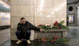 Petrohradské metro den po explozích