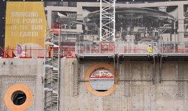 Stavba termojaderného reaktoru ITER, ilustrační foto