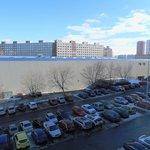 OC Lužiny. Boční stěna pro projekt Alfa se 140 byty.