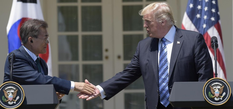"Donaldu Trumpovi už se Severokorejským režimem ""dochází trpělivost""."