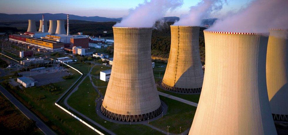 Jaderná elektrána Mochovce (Zdroj: Slovenské elektrárne)