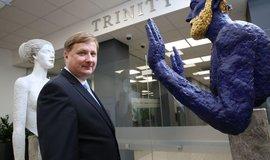 Šéf Trinity Bank Lapčík: Stavíme osmý div světa