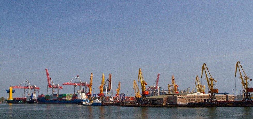 Oděský přístav, ilustrační foto