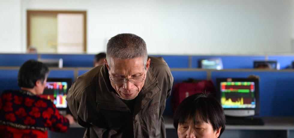 Čínské akcie, ilustrační foto