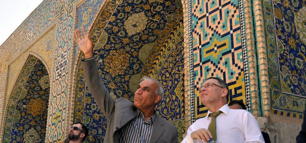 Lubomír Zaorálek v Íránu