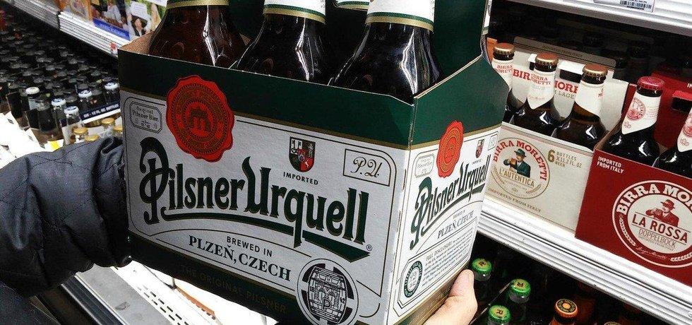 Prazdroj od října zdraží pivo v lahvích a plechovkách