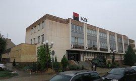 Aukční síť Nexos v současnosti prodává tuto budovu Komerční banky v Hodoníně