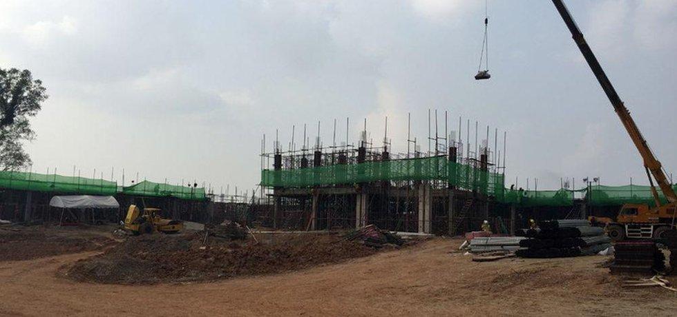 Nová nemocnice v laoském hlavním městě Vientiane