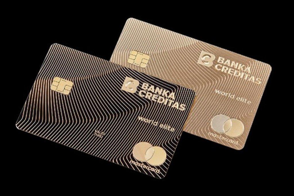 Platební karta ze zlata s názvem Real Gold