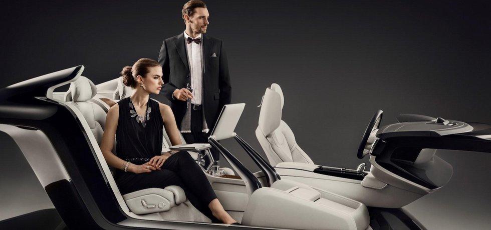 Koncept interiéru Volvo S90 Excellence