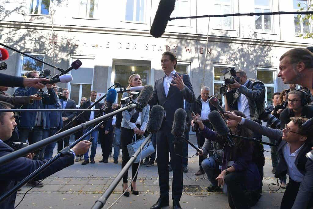 Kurzovi lidovci vyhráli rakouské volby, další pořadí je nejasné. Zelení propadli