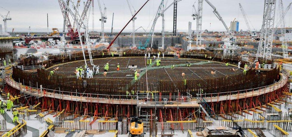 Výstavba jaderné elektrárny Hinkley Point C