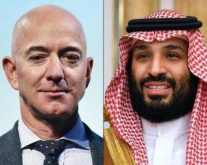 Jeff Bezos a Muhammad bin Salmán