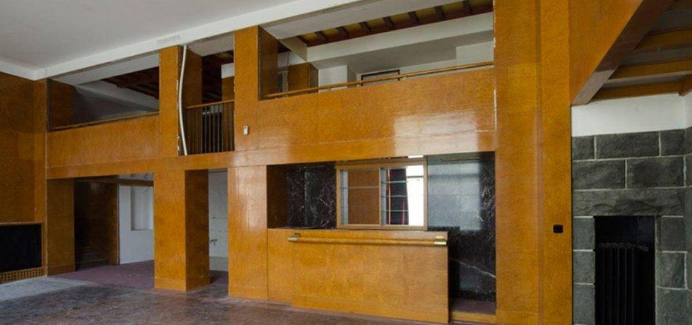 Interiér plzeňské Semlerovy rezidence od Adolfa Loose