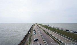 Hráz Afsluitdijk, ilustrační foto