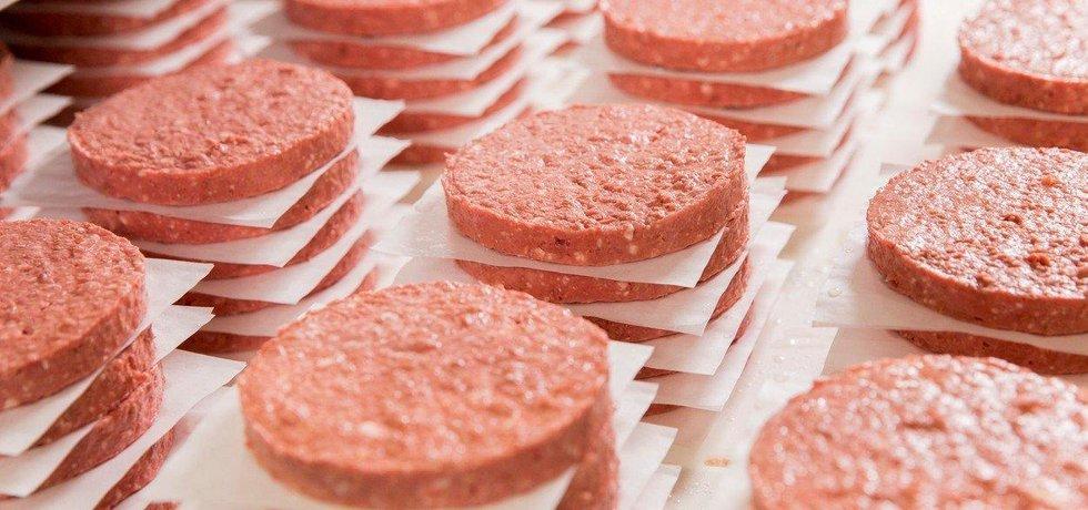 Veganské burgery, ilustrační foto