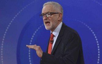 Šéf Labouristické strany Jeremy Corbyn