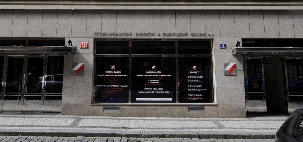 Budova ČMZRB, Českomoravské záruční a rozvojové banky