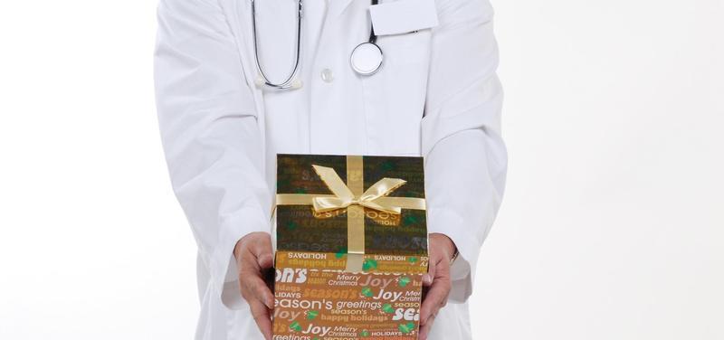 *lékař, dárek, Vánoce