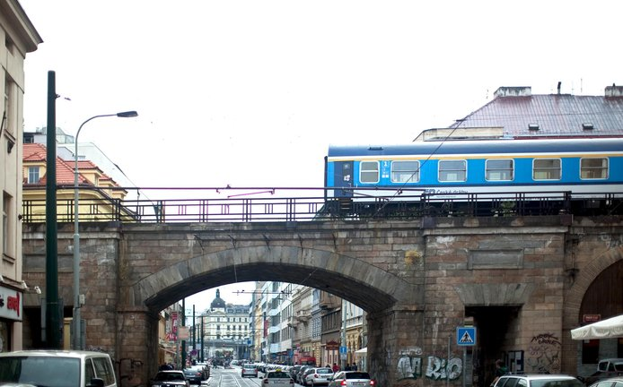 Praha, Negrelliho viadukt