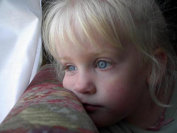 dítě, deprese, smutek