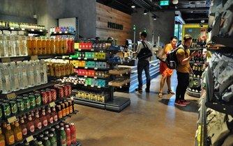 Obchod Delmart na pražském Andělu