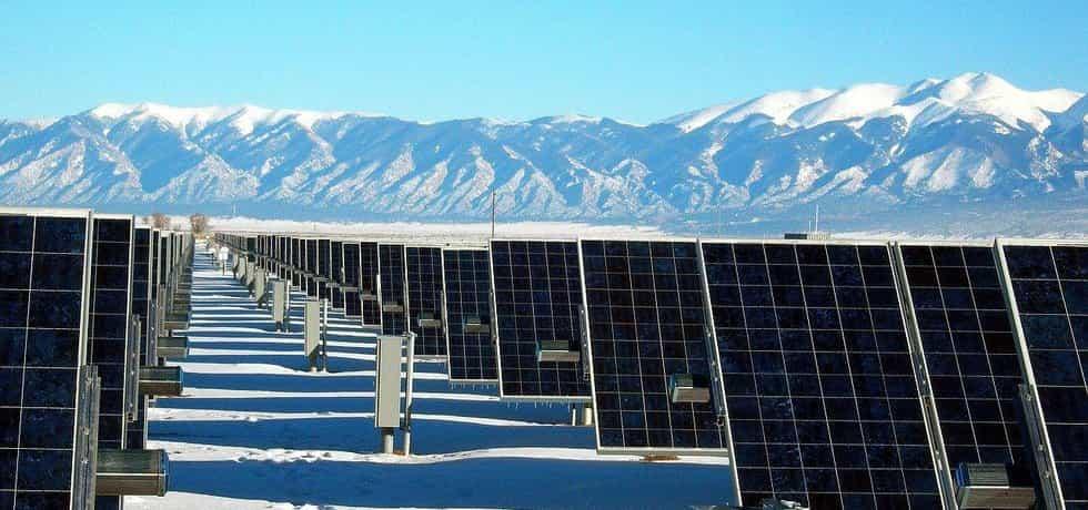 Solární elektrárna v Coloradu
