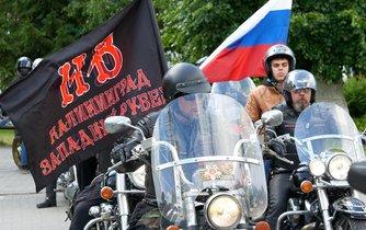 Noční Vlci se nacionalismem a vřelými vztahy s Putinem nijak netají.