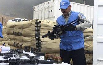 Na proces odzbrojení dohlíží OSN