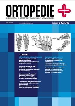 Obálka Ortopedie