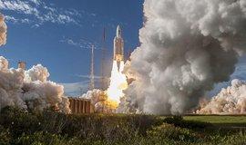 Start rakety s družicí Galileo