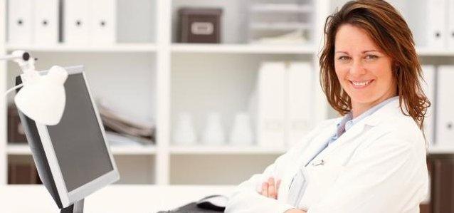 lékařka, lékařství, ordinace
