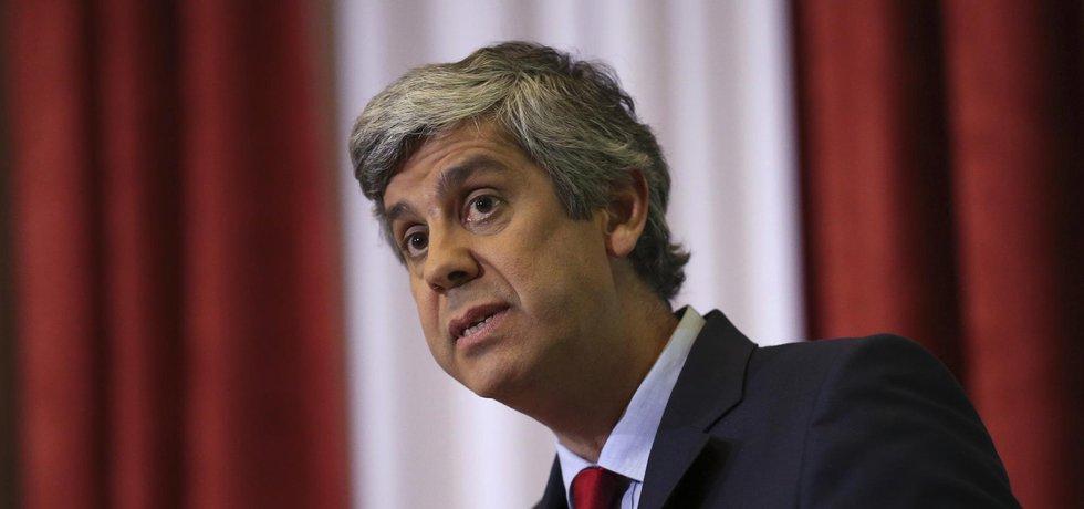 Portugalský ministr financí Mário Centeno