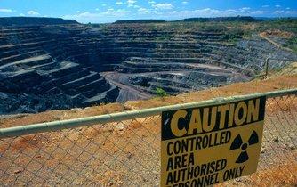 Australský uranový důl Kakadu Park