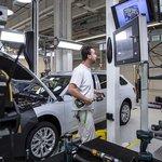 Linka pro výrobu superbu, kde se model iV vyrábí, má kapacitu až 400 vozů denně a nyní z ní vychází denně 385 aut