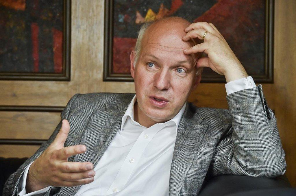 Prezidentský kandidát Pavel Fischer