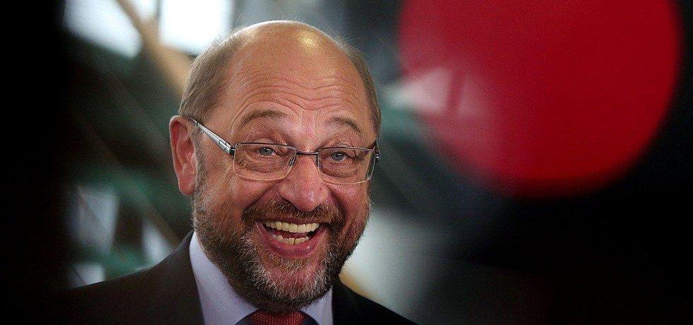 Šéf německé SPD Martin Schulz