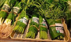 Banánové listy jako alternativa plastovým obalům