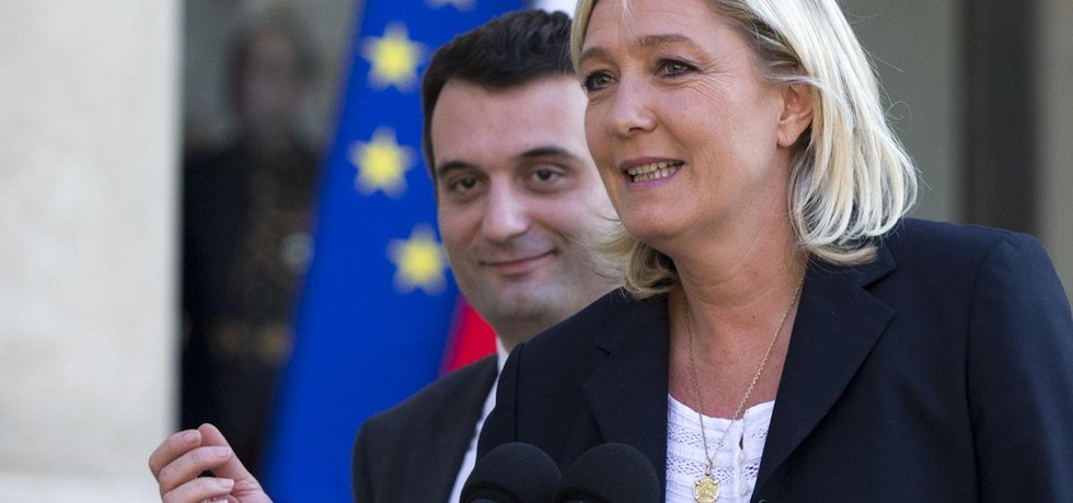 Florian Philippot, považovaný za pravou ruku šéfky francouzské Národní fronty Marine Le Penové, oznámil, že opustí toto krajně pravicové uskupení