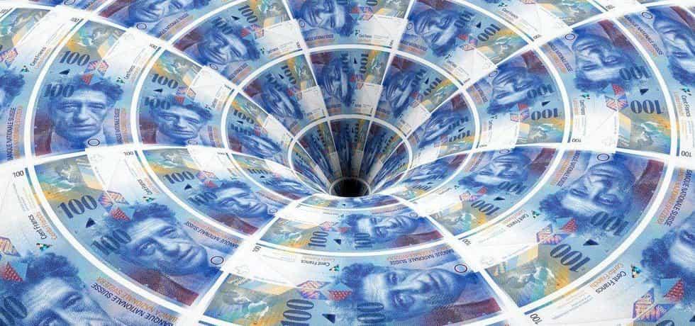 Švýcarský frank, daňový únik, ilustrační foto
