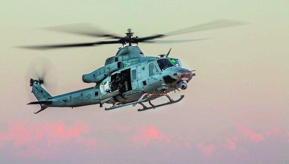 Varianta B: 12 strojů UH-1Y Venom s pořizovací cenou 12,5 miliardy korun od amerického výrobce Bell Helicopter